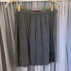 Knit Gray Skirt